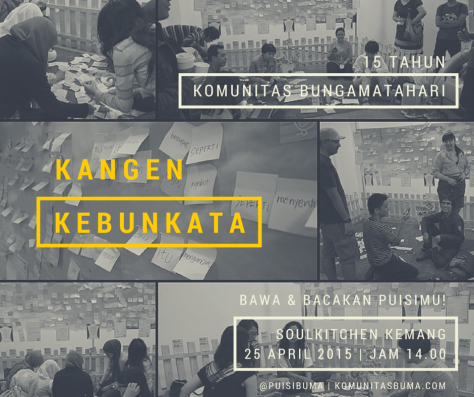 FB - Kangen KebunKata BuMa 15th